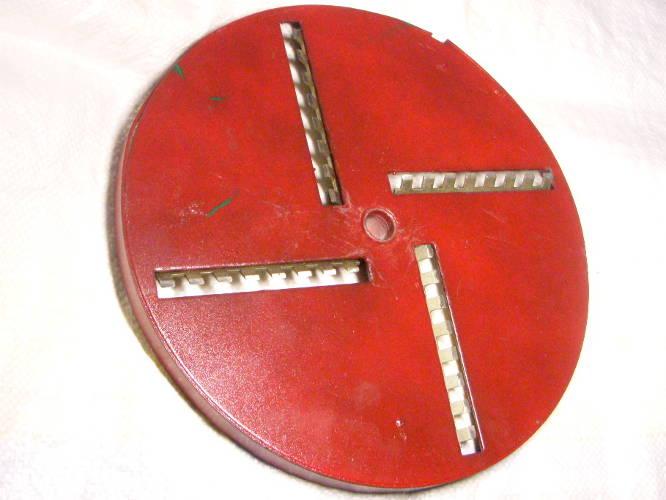 Режущий диск с ножами для Винницкой корморезки