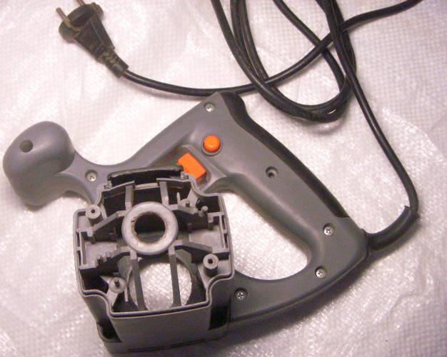 Пластиковый корпус двигателя дисковой электропилы