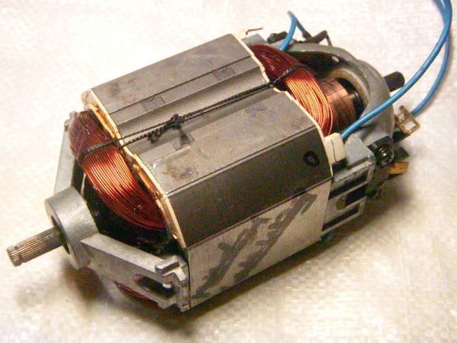 Ремонт двигателя электрокосы Ижмаш UT-2200 INDUSTRIAL LINE