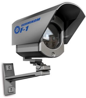 Черно-белая уличная видеокамера Germikom F-1