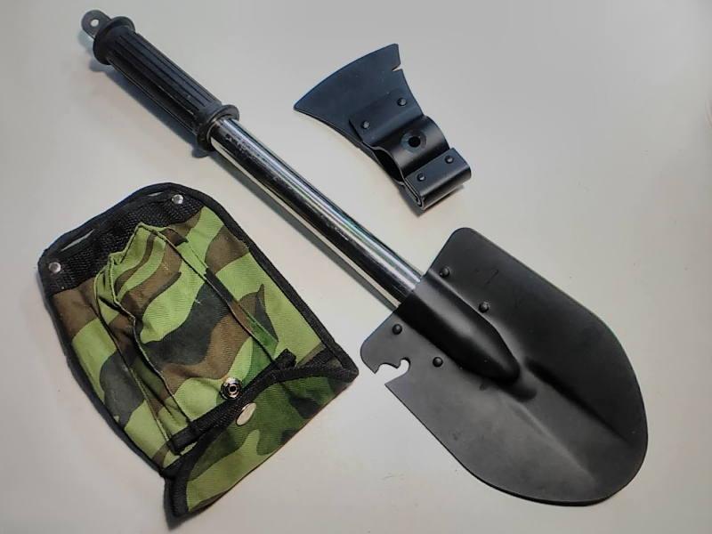 Военно-туристическая лопата (топор) прямая ручка