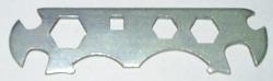 Универсальный велосипедный ключ (квадрат 7, 8, 10, 12, 14, 17)