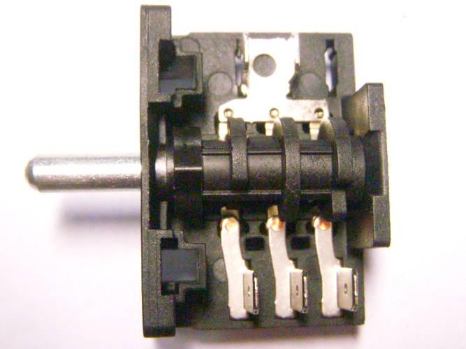 Пятипозиционный переключатель AC3 3*2 для электроплиты Saturn St-ec1076