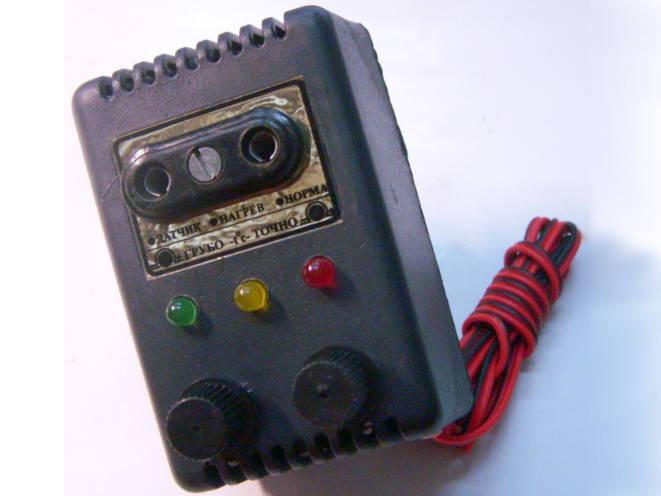 Электронный двухрежимный терморегулятор для инкубатора и террариума