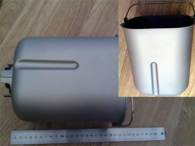 Рабочая емкость хлебопечки LG с одной лопаткой