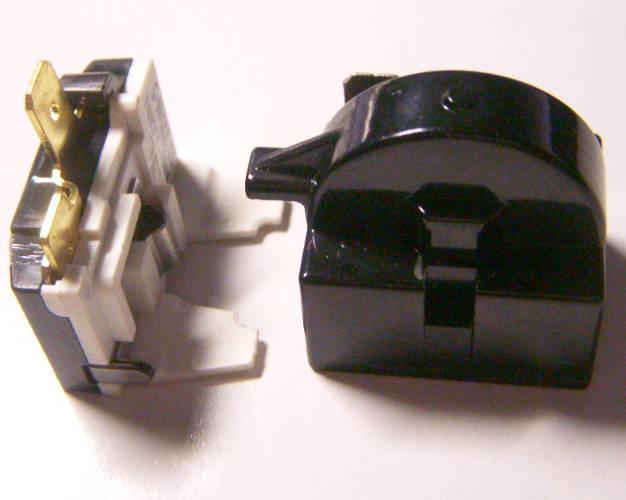 Пусковое реле QP2-15 для холодильника Атлант с компрессором QD75YG R600a