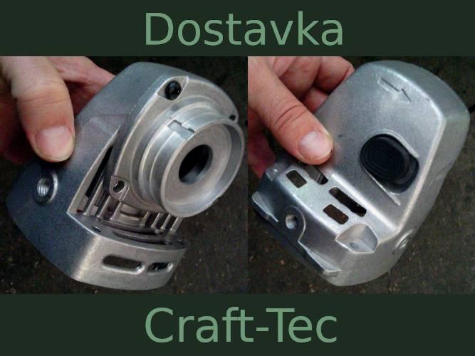 Корпус редуктора УШМ болгарки Craft-Tec 150, 180