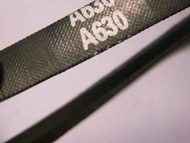 Клиновой ремень A-630 стиральной машины сечением 12*8*8