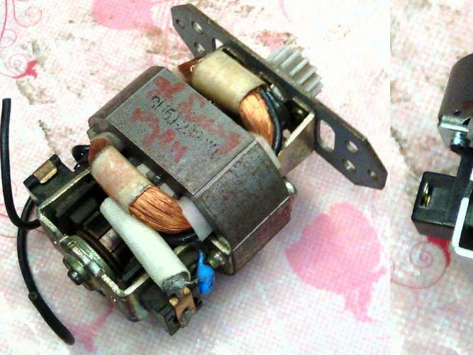 Электродвигатель HC5410 для блендера, кофемолки