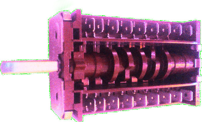 7-позиционный переключатель дляэлектро плиты EGO 07001.005