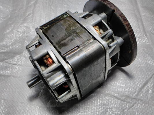 Ремонт двигателя КД-120 для стиральной машины Малютка