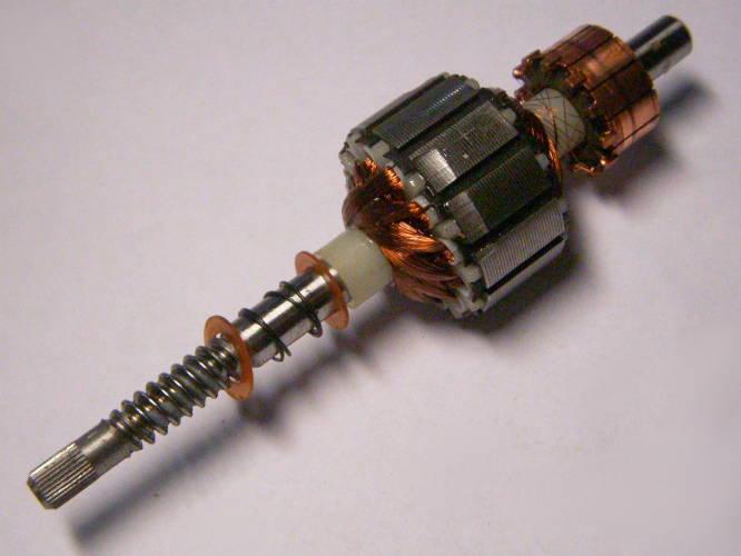 Якорь L115*d31.5 для электромиксера