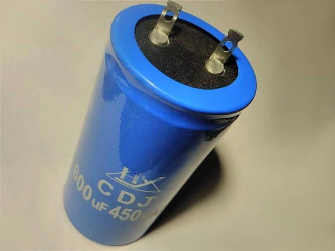 Пусковой конденсатор 50*97 емкостью 600мкФ