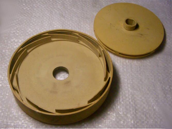 Секция диффузор с крыльчаткой d102*w12 для насоса MRS H5