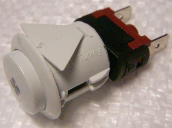 Кнопка с фиксатором для включения вентилятора газовой плиты
