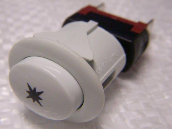 Кнопка электроподжига без фиксатора для газовой плиты Luxell