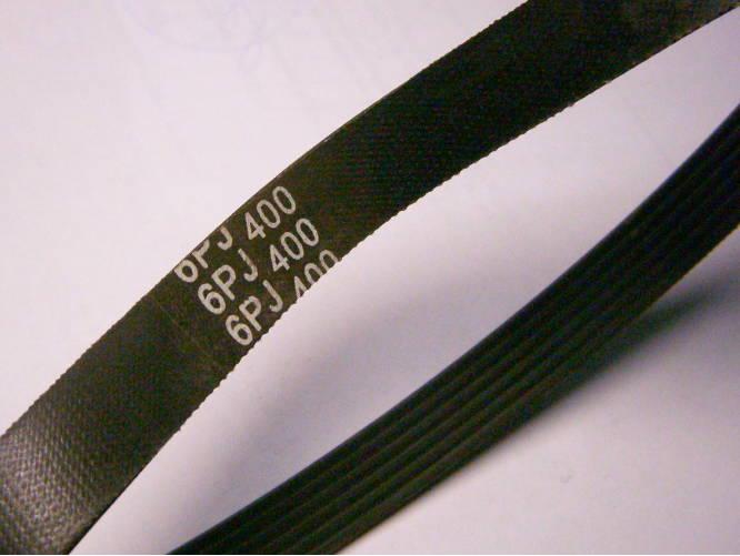 Шестиручейный ремень 6PJ400 электротехники шириной 14 мм