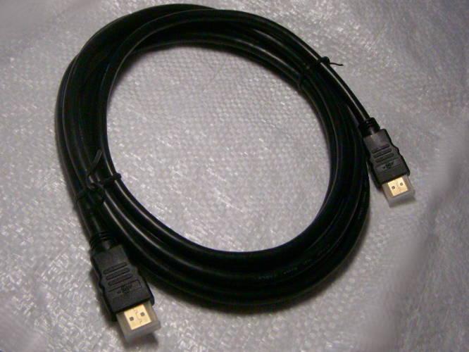 Стандартный кабель HDMI-HDMI длиной 3 метра