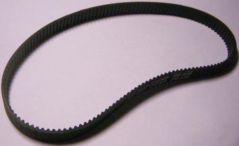 Зубчатый ремень 3M-420 шириной 10 мм на 140 зубьев