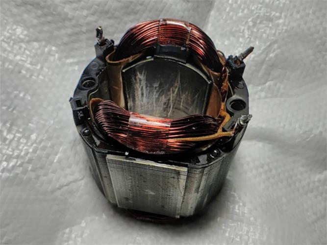 Ремонт статора 72*42*L50 для циркулярной пилы KRAISSMANN 1500 TS 250