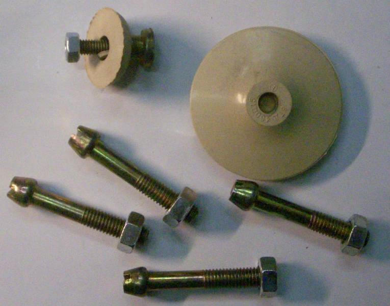 Ремкомплект поршень, клапан, винты, болты для вибрационного насоса Каштан, Ручеек, Малыш, Струмок