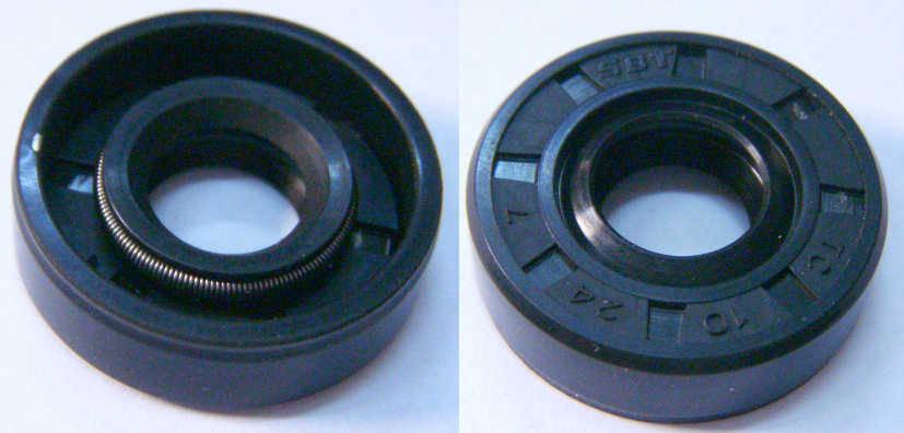 Резиновый сальник TC 10*24*7 для советской электромясорубки