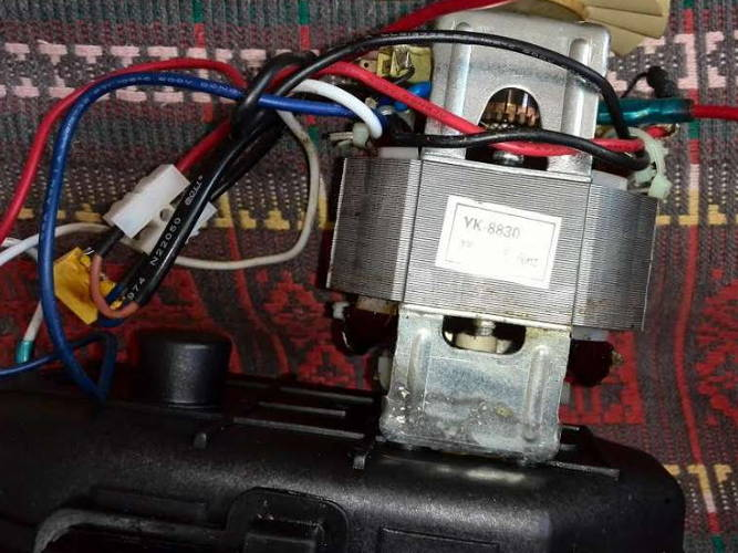 Электродвигатель HC8830 мясорубки Startex, Mirta, Alpari, Rainford