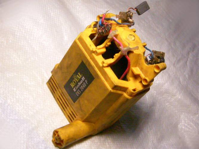 Корпус со статором для цепной электропилы Royal Einhell EKS 2040 P
