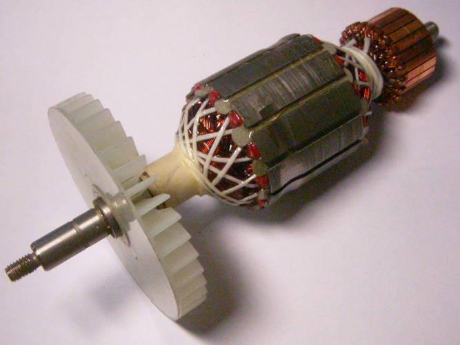 Якорь двигателя цепной електропилы FORTE 24-40, Кедр ПЦ-2800, Intertool