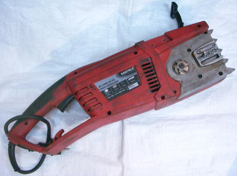 Ремонт цепной электропилы Matrix EK-2400 40-AK