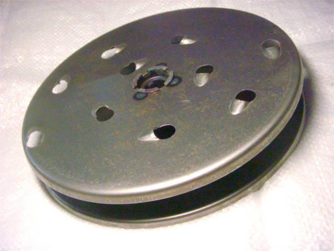 Двойной нержавеющий дисковый нож корморезки Эликор 230 мм