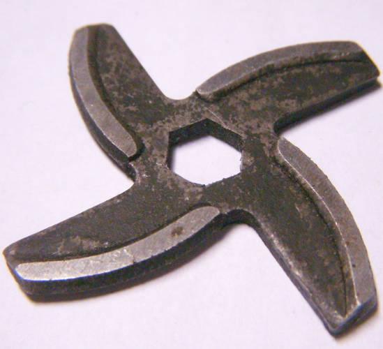 Дешовый нож на шестигранник для электромясорубки Moulinex