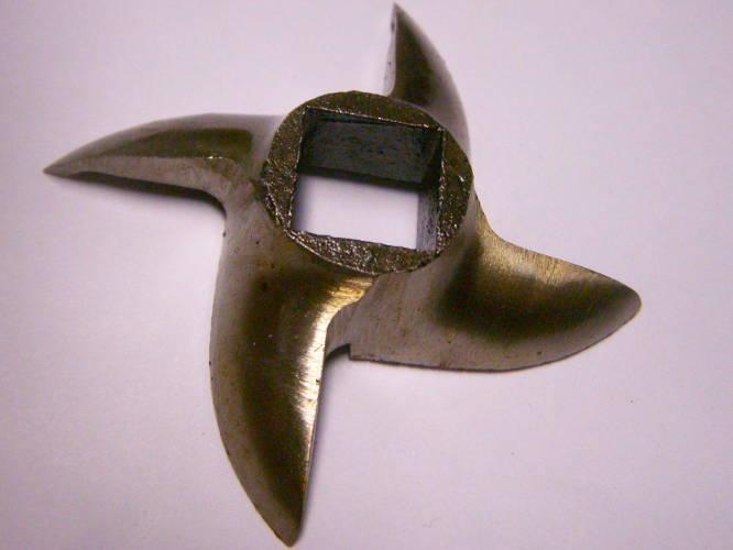 Нож 62 мм для полупромышленной мясорубки на квадрат 13*13