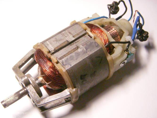 Ремонт электродвигателя электрокосы Stern GT 20+