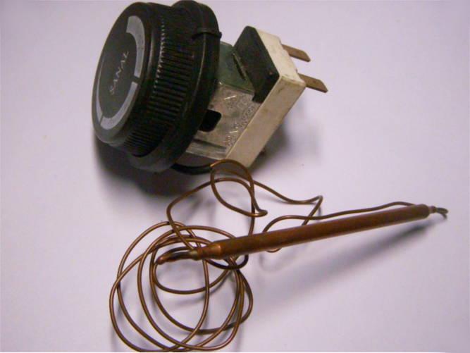 Терморегулятор водонагревателя до 120°C на трех контактах