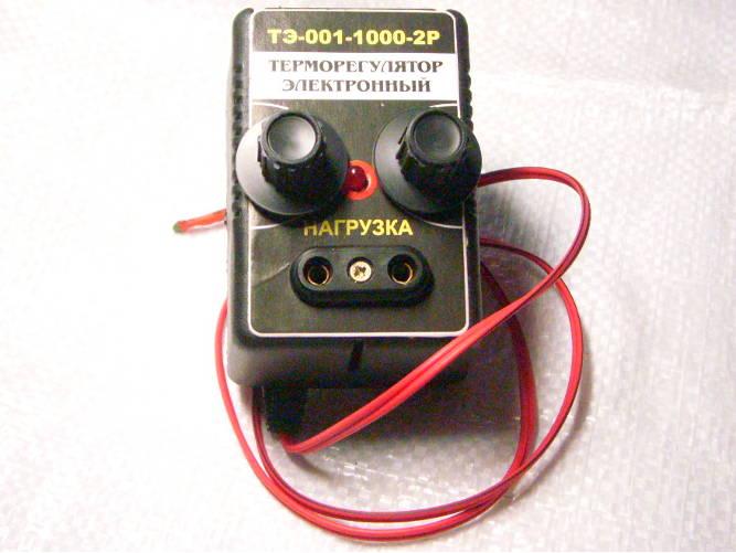 Высокоточный терморегулятор О-Мега с двумя регуляторами грубо-точно