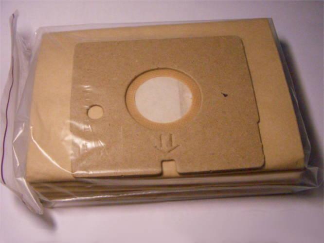 Комплект бумажных мешков пылесборников FB07 LG V-C30, Storm Extra