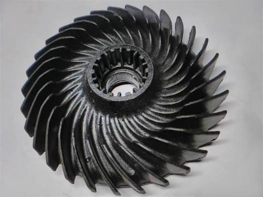 Крыльчатка 88*(14-20) охлаждения двигателя болгарки Bosch
