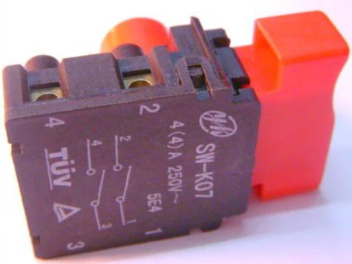 Кнопка пуска для электрокосы Бригадир, Sadko ETR-1400