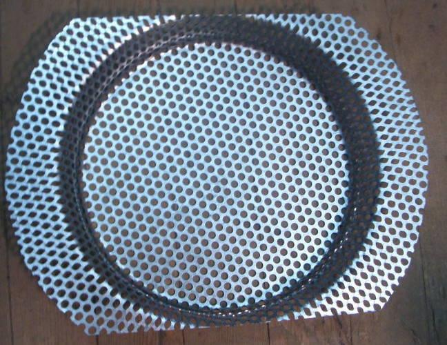 Решетка зернодробилки Зубренок ячейка 5 мм