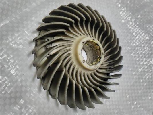 Крыльчатка 19*88 охлаждения двигателя фрезера