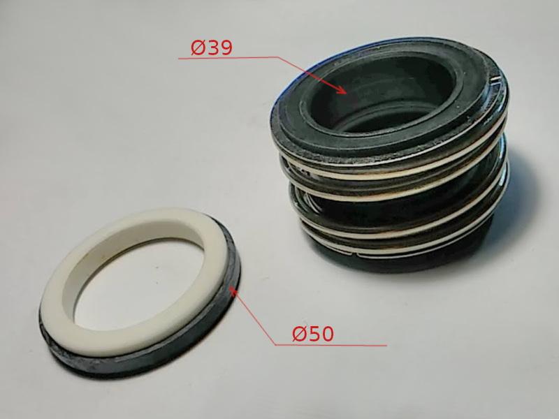 Торцевое уплотнение 109-35 промышленного насоса на вал 35 мм