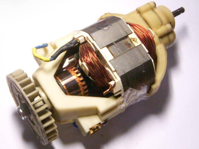 Ремонт двигателя электротриммера Кедр 2200