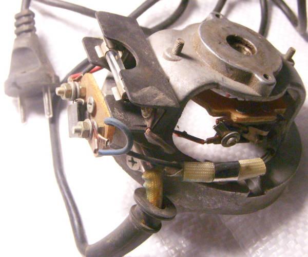 Крышка электродвигателя со щеткодержателями для насоса БЦН кама