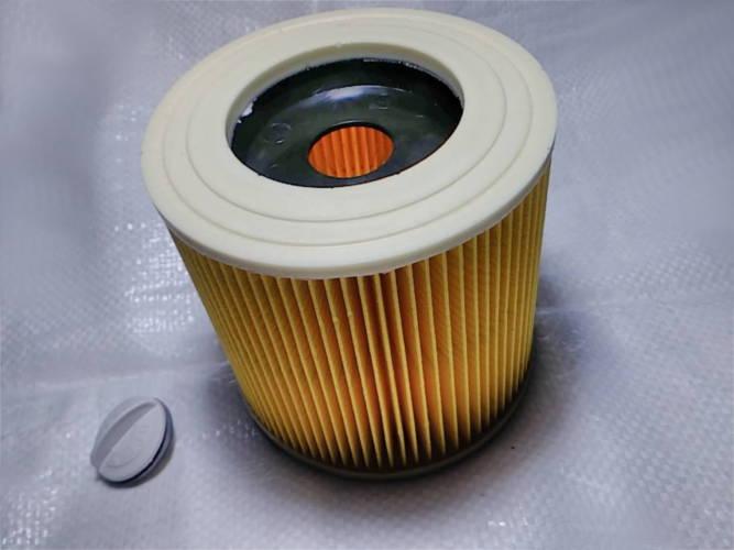 Патронный фильтр HEPA пылесоса Karcher A WD 2 WD 3 DeWalt 6.414-552.0