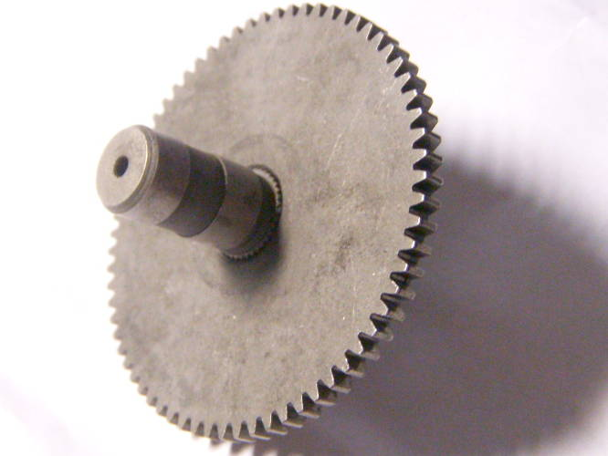 Металлическая шестерня редуктора электромясорубки Moulinex HV3