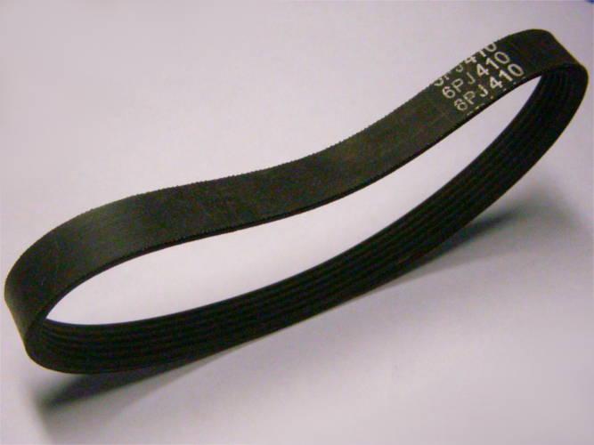 6-ти ручейный резиновый ремень 6PJ410 на кордовой основе