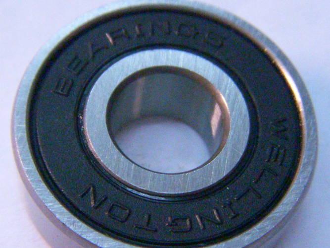 Радиальный шариковый подшипник 80018 (608 2RS), размером 8*22*7 мм