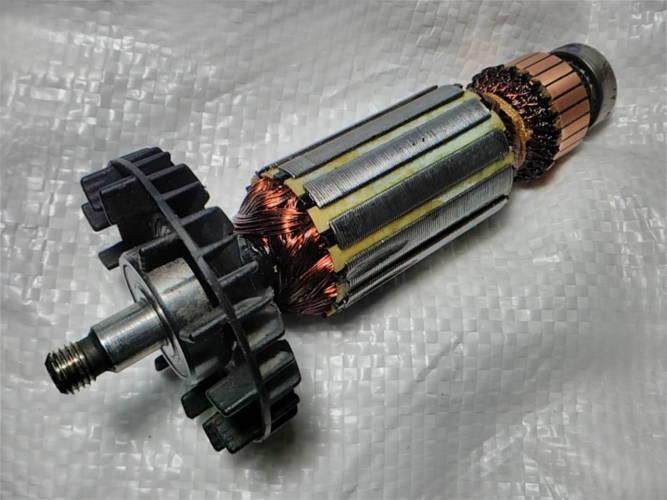 Реставрация якоря Фиолент р2-82