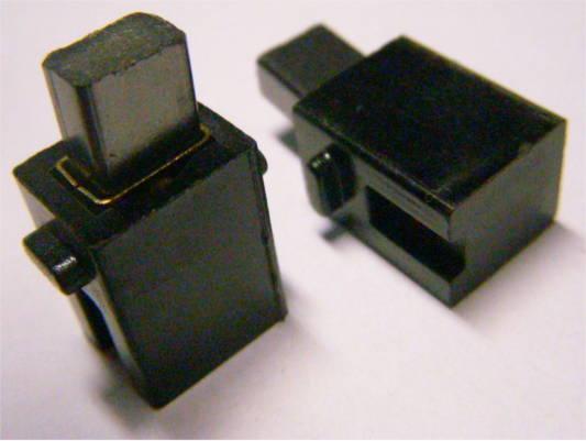 Щеткодержатели наружным размером 11*13*17 мм под щетки 5*8 мм